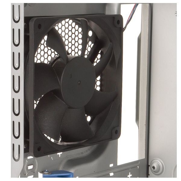 Rear 120 mm fan