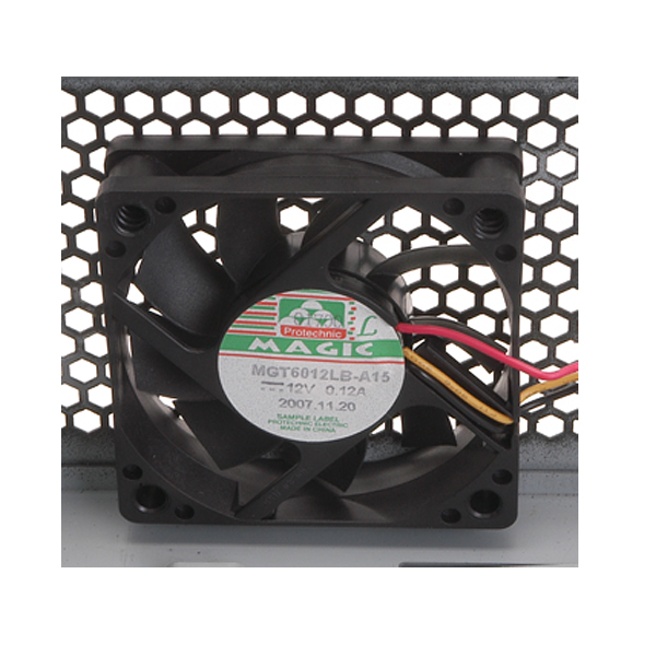 1 x bottom 60 mm fan